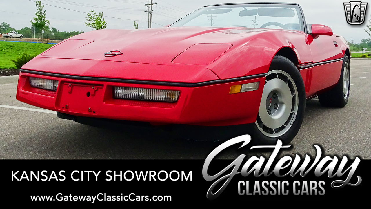 Used 1987 Chevrolet Corvette