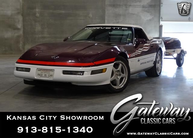 1995 Chevrolet Corvette<br><span style='font-size: large; font-style: italic'><b>Pace-car </b></span>