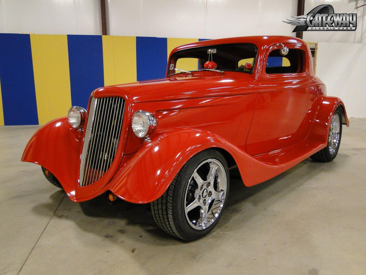 1934 ford 3 window coupe gateway classic cars 143 lou for 1934 ford three window coupe