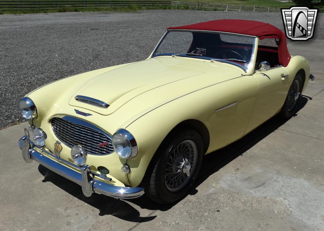 1961 Austin Healey 3000 38