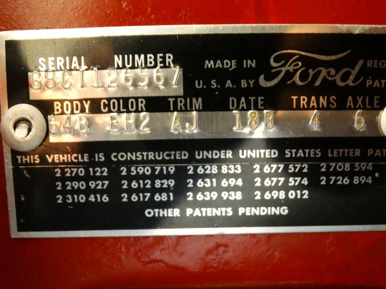 1958 Ford Fairlane 85