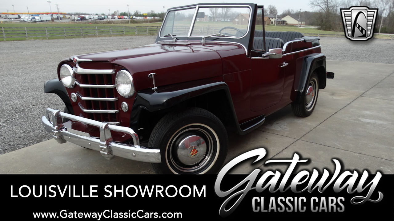Used 1950 Willys Jeepster