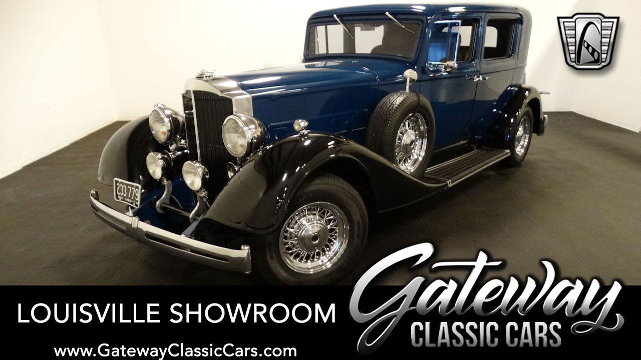 1934 Packard Eight Club Sedan