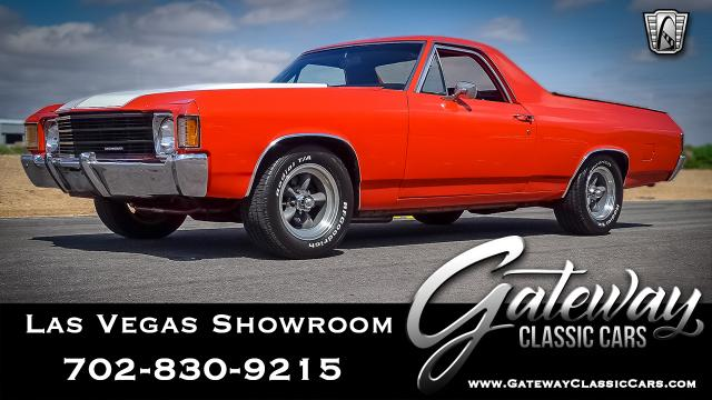 1972 Chevrolet El Camino<br><span style='font-size: large; font-style: italic'><b>  </b></span>
