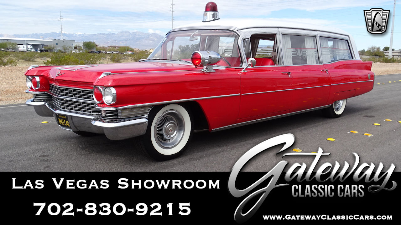 1963 Cadillac Ambulance