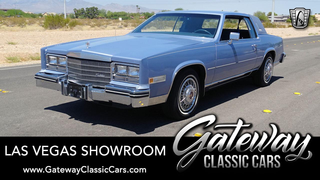 Used 1984 Cadillac Eldorado