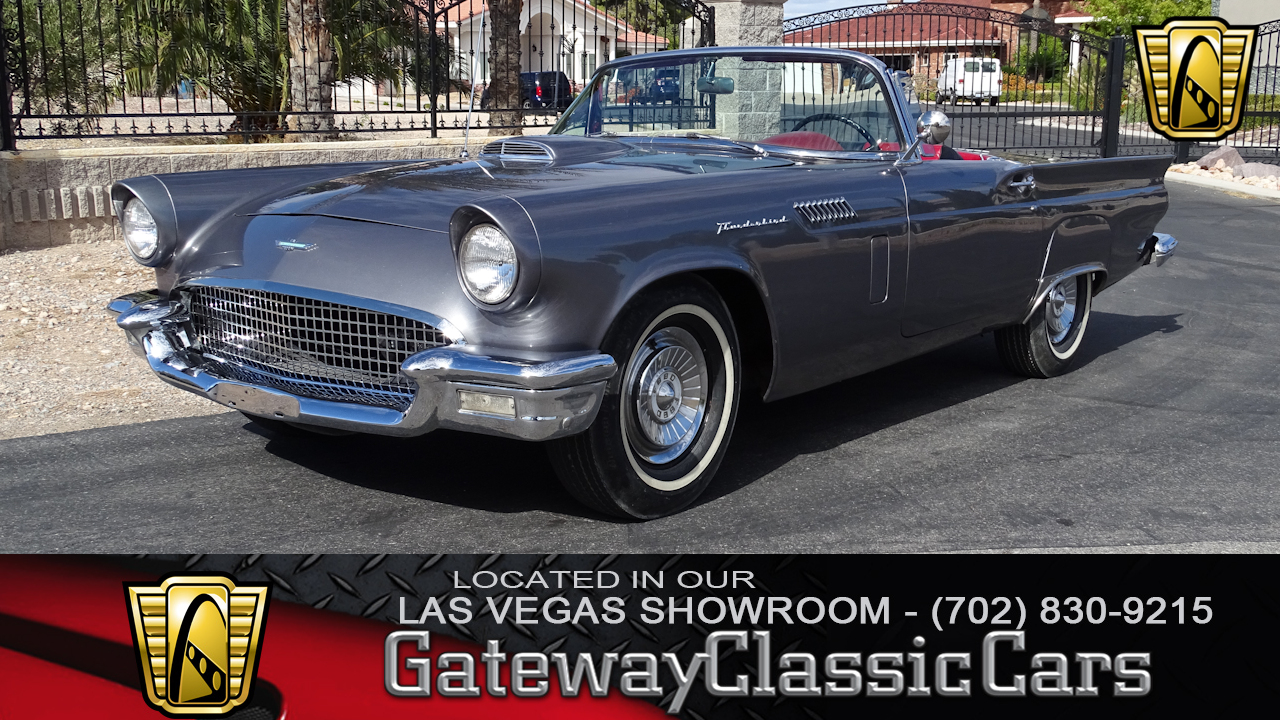 1957 Ford Thunderbird Gateway Classic Cars 37 Lvs