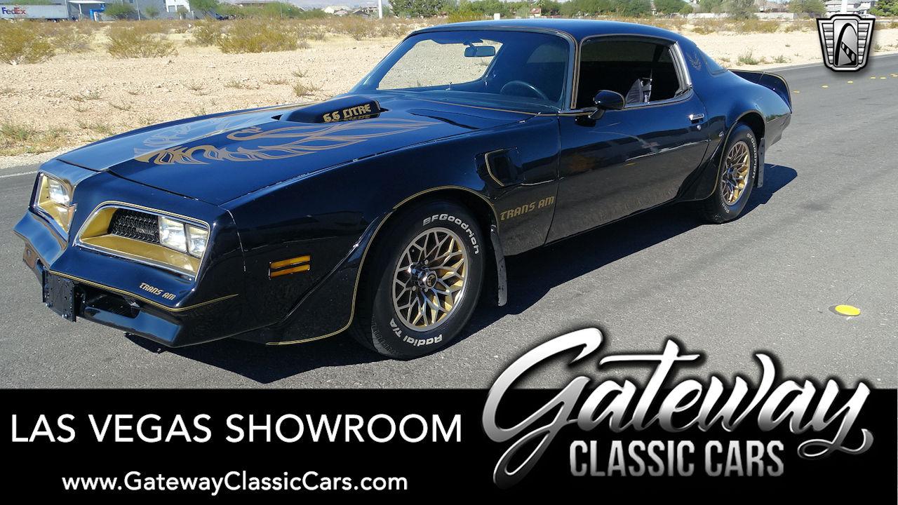Used 1978 Pontiac Trans Am