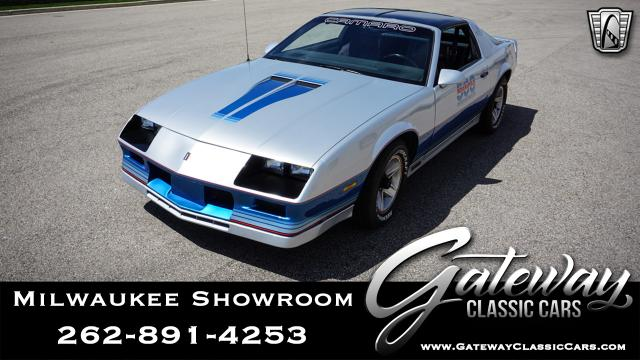 1982 Chevrolet Camaro<br><span style='font-size: large; font-style: italic'><b>  Indy 500 Pace Car</b></span>