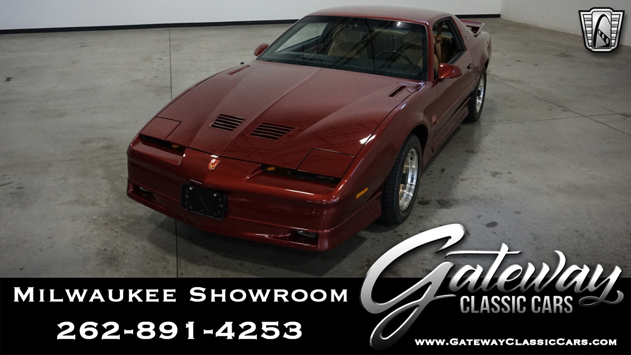 1988 Pontiac Firebird Trans-Am