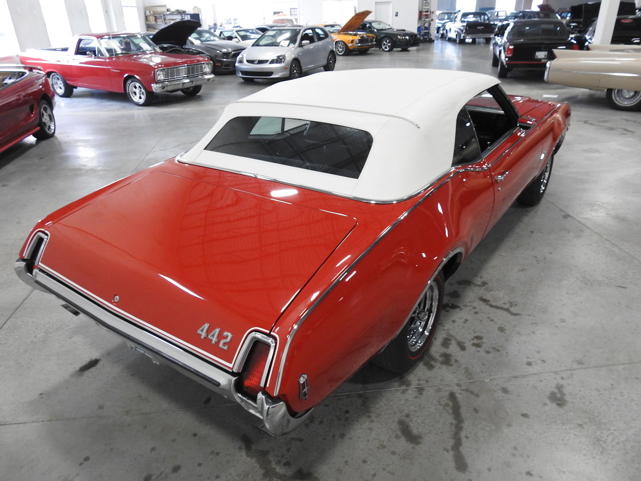 1969 Oldsmobile 442 41