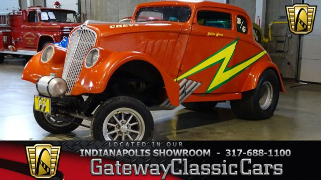 1933 Willys Gasser<br><span style='font-size: large; font-style: italic'><b>Replica </b></span>