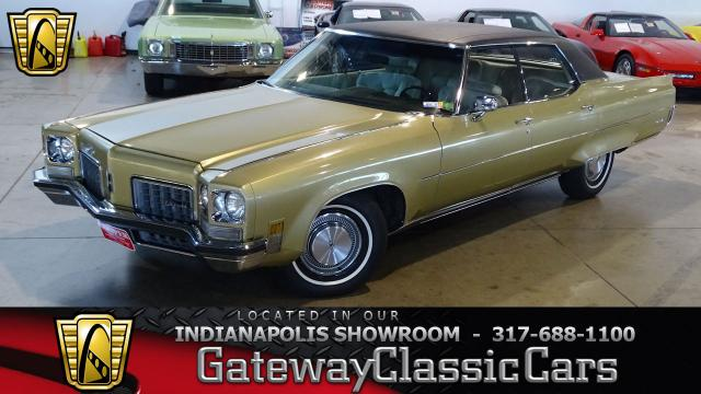 1972 Oldsmobile 98<br><span style='font-size: large; font-style: italic'><b>Regency </b></span>