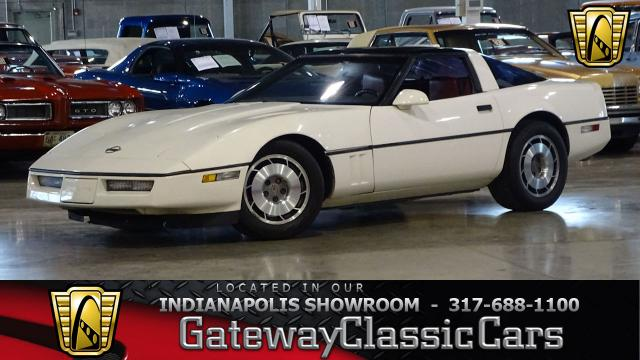 1987 Chevrolet Corvette<br><span style='font-size: large; font-style: italic'><b>  </b></span>
