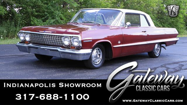 1963 Chevrolet Impala<br><span style='font-size: large; font-style: italic'><b>SS </b></span>
