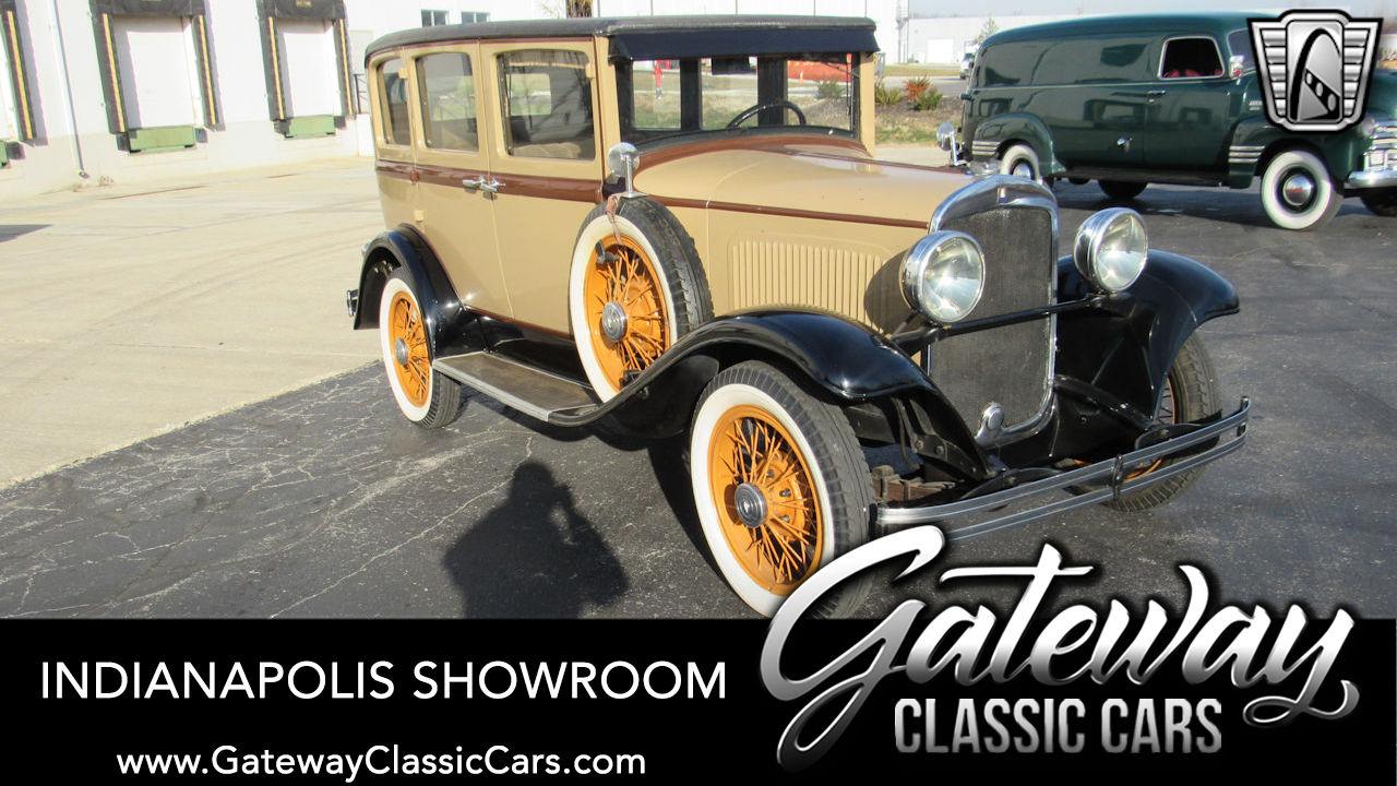 Used 1929 Plymouth Model U