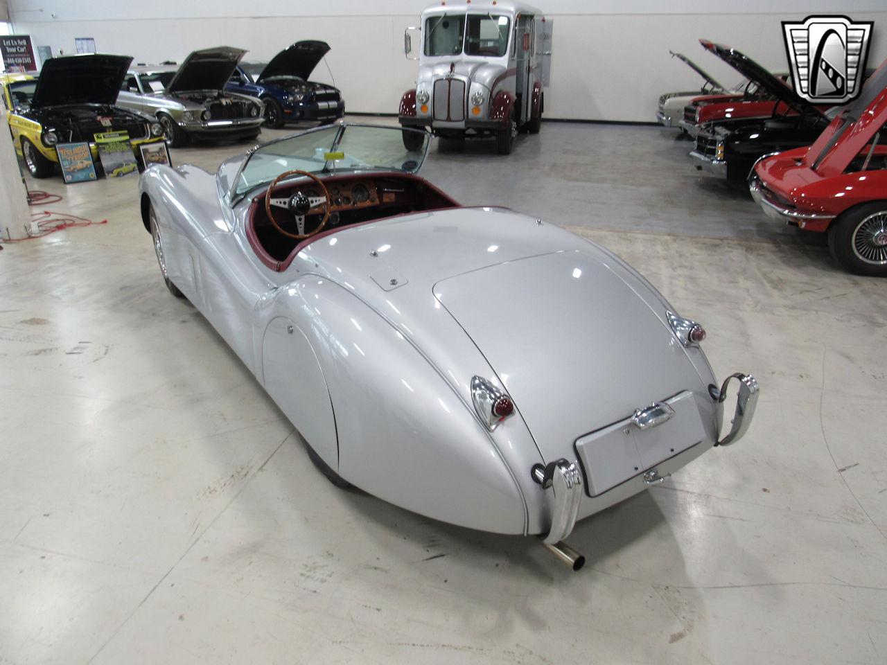 1954 Jaguar XK120 9
