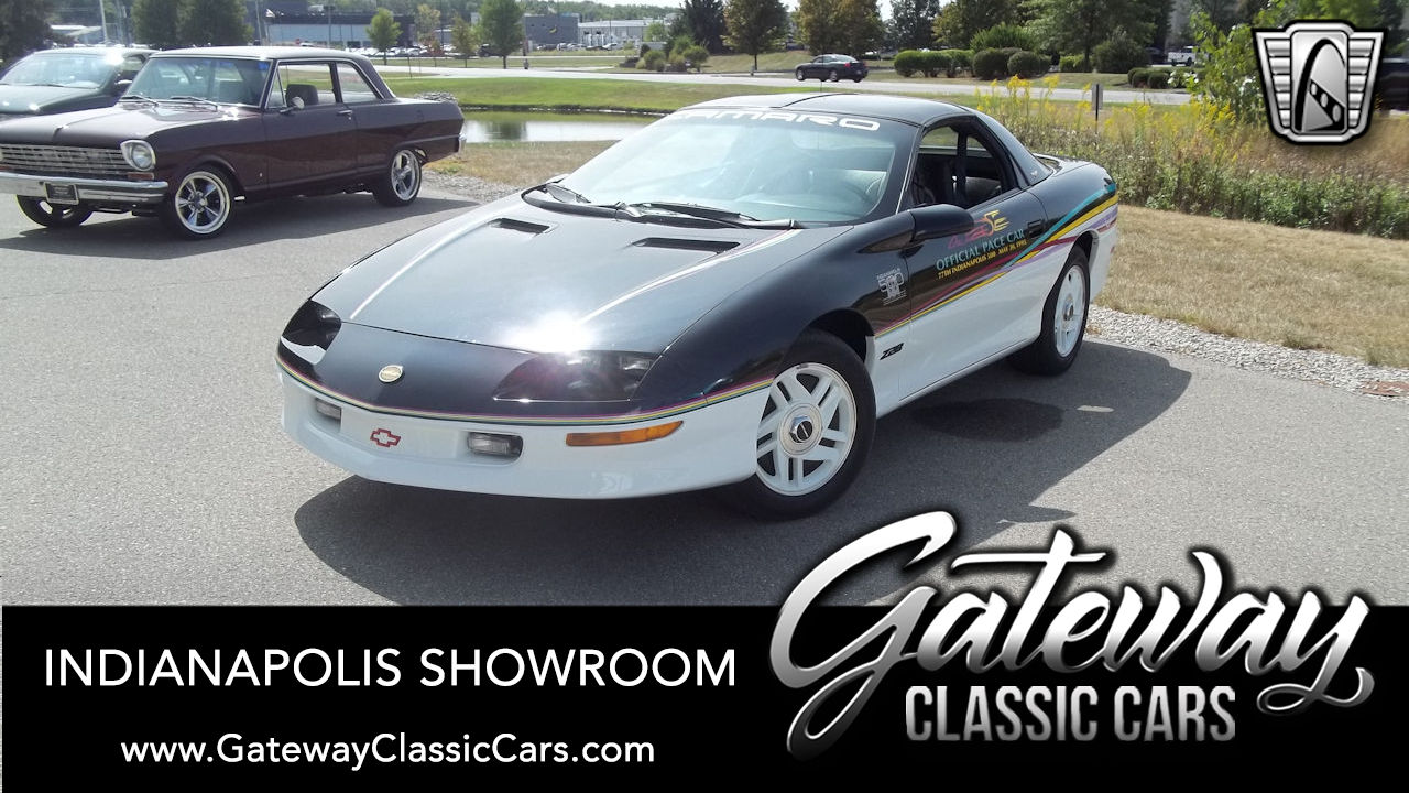 1990 chevrolet camaro iroc z convertible for sale gateway classic cars 23961 1993 chevrolet camaro z28 indy pace car