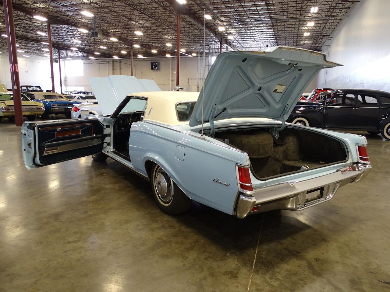 1970 Lincoln Continental 8