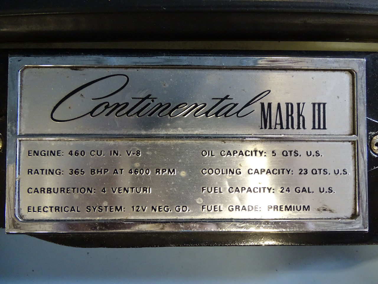 1970 Lincoln Continental 11