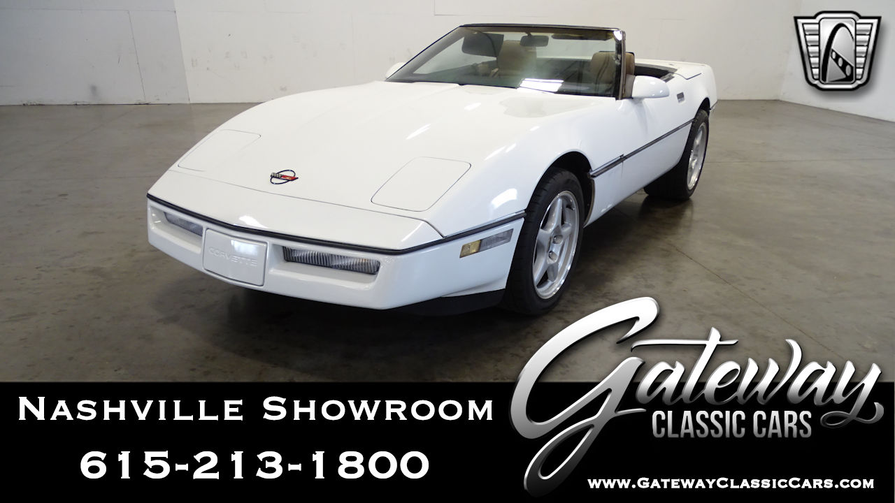 Used 1989 Chevrolet Corvette