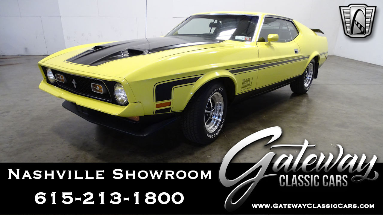 Used 1972 Ford Mustang