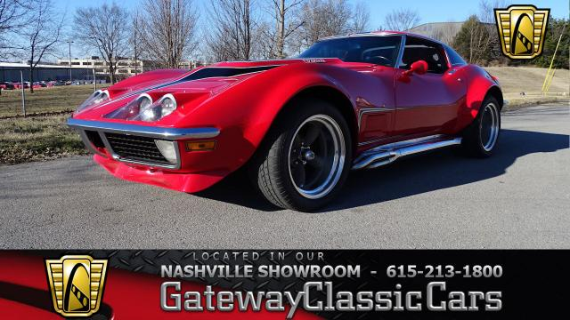 1971 Chevrolet Corvette<br><span style='font-size: large; font-style: italic'><b>Captain America </b></span>