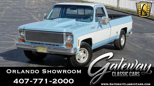 1974 Chevrolet C20 Custom Deluxe