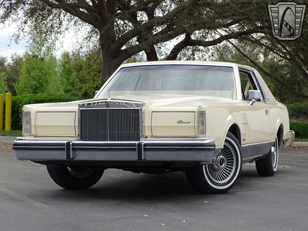 1983 Lincoln Continental 86