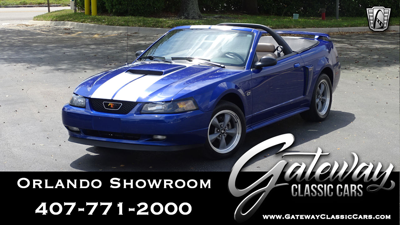 2002 Ford Mustang Gt Convertible For Sale Gateway Classic