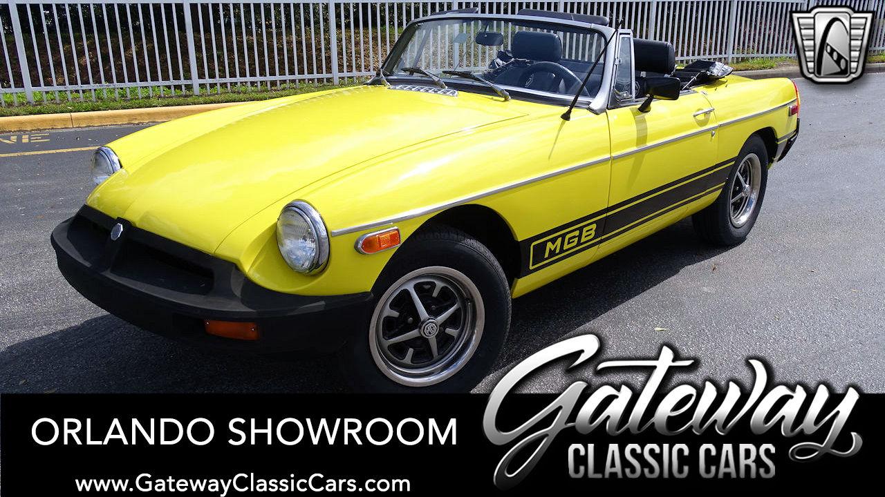 Used 1978 MG MGB