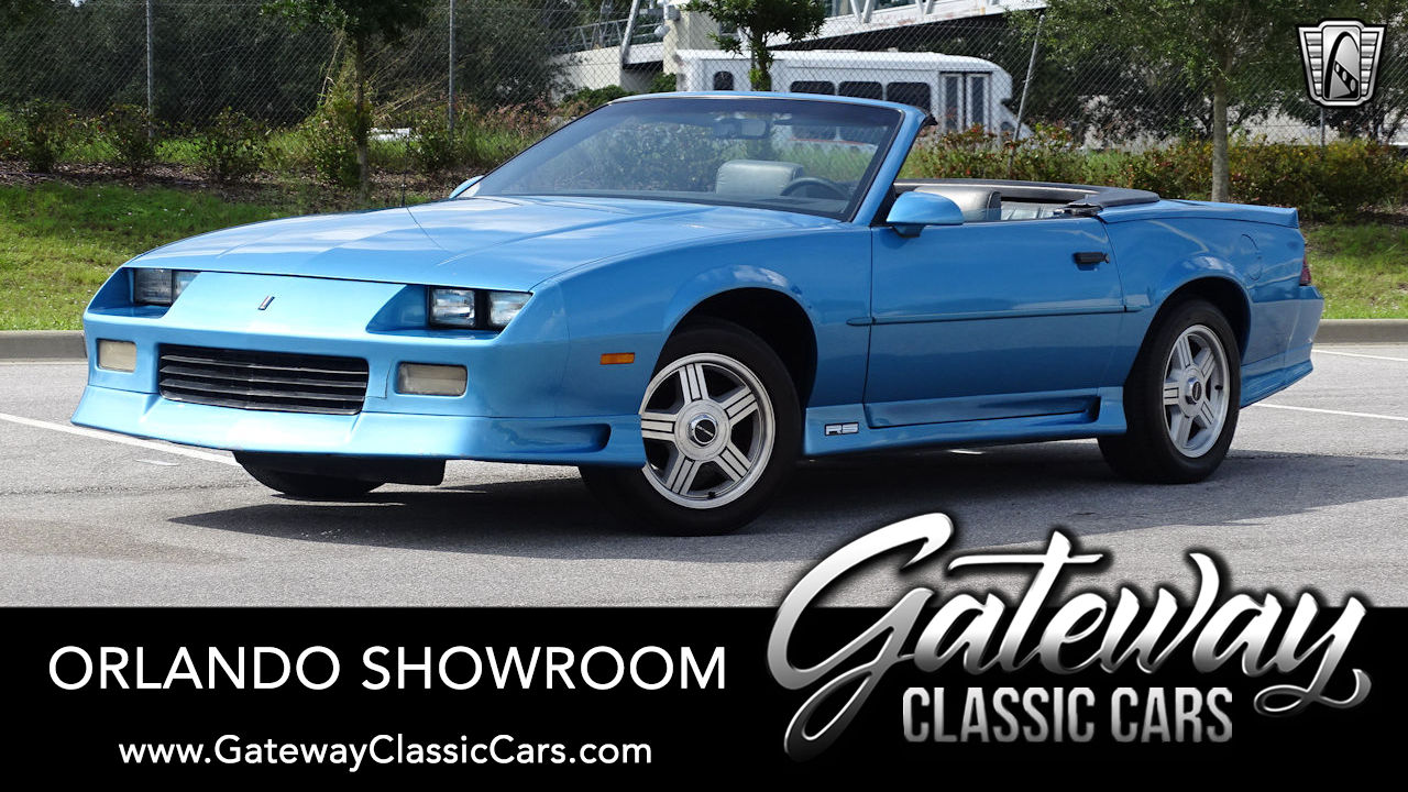 1991 chevrolet camaro rs for sale gateway classic cars 25585 1991 chevrolet camaro rs