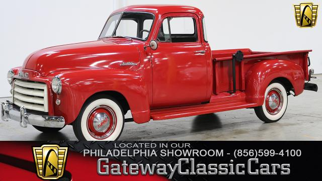 1951 GMC 5 Window <br><span style='font-size: large; font-style: italic'><b>Pickup </b></span>