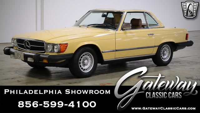 1982 Mercedes-Benz 380SL<br><span style='font-size: large; font-style: italic'><b>  </b></span>