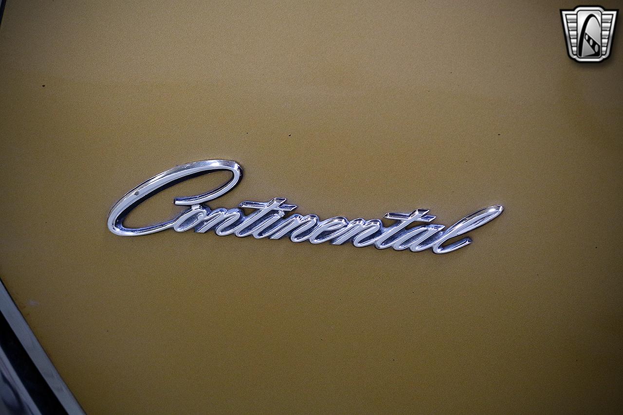1971 Lincoln Continental 15