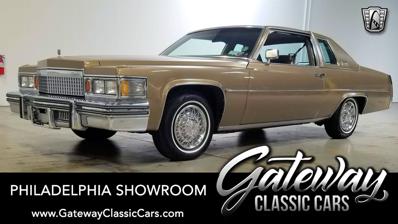 Used 1979 Cadillac Coupe Deville