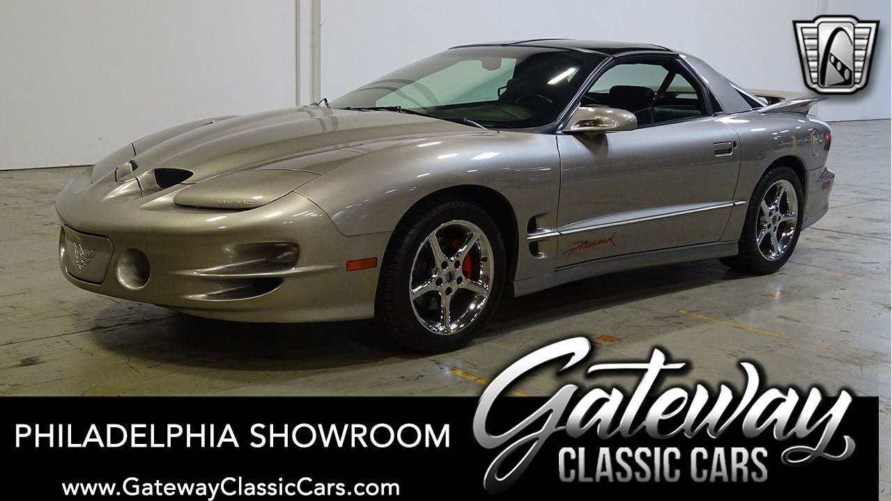 Used 2002 Pontiac Firebird Trans-Am