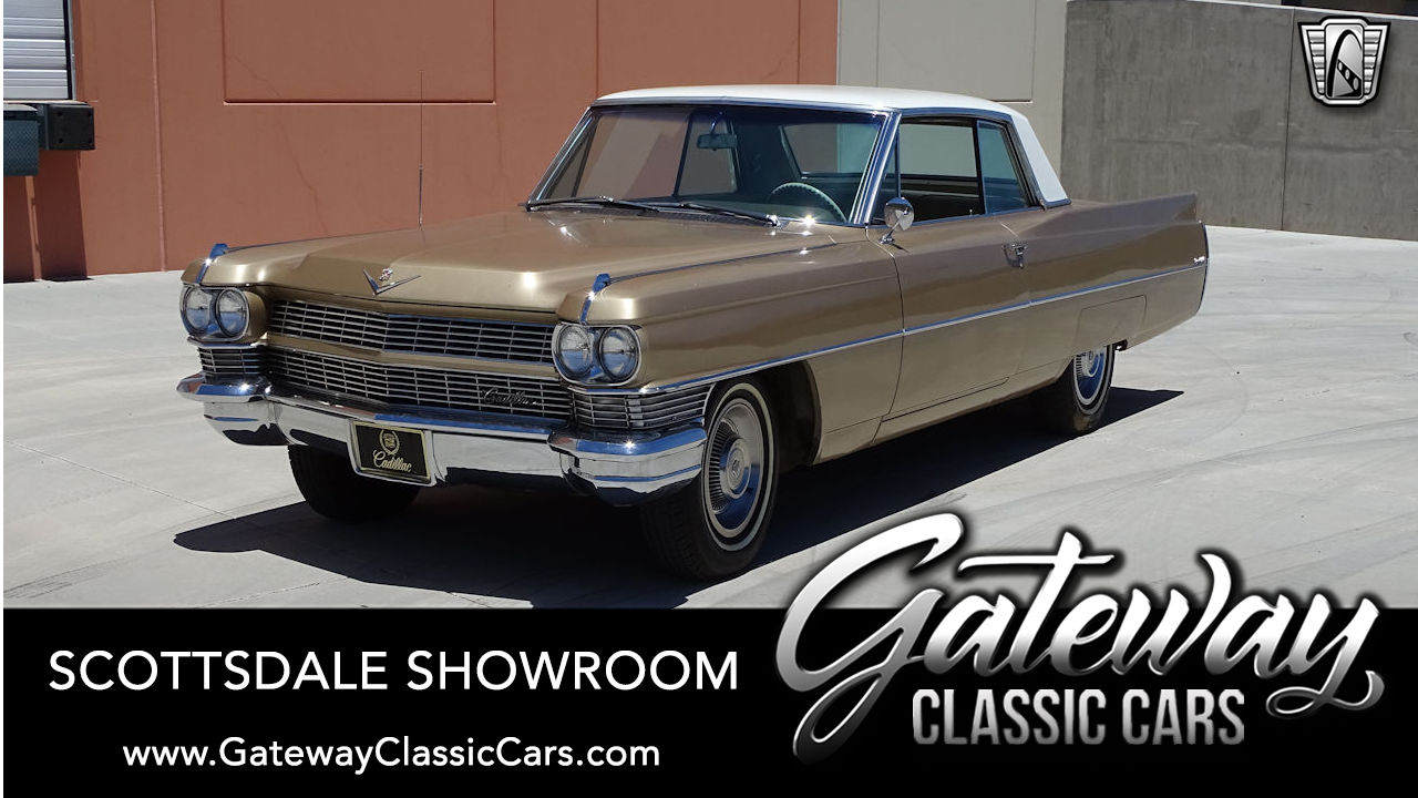 Used 1964 Cadillac Coupe Deville