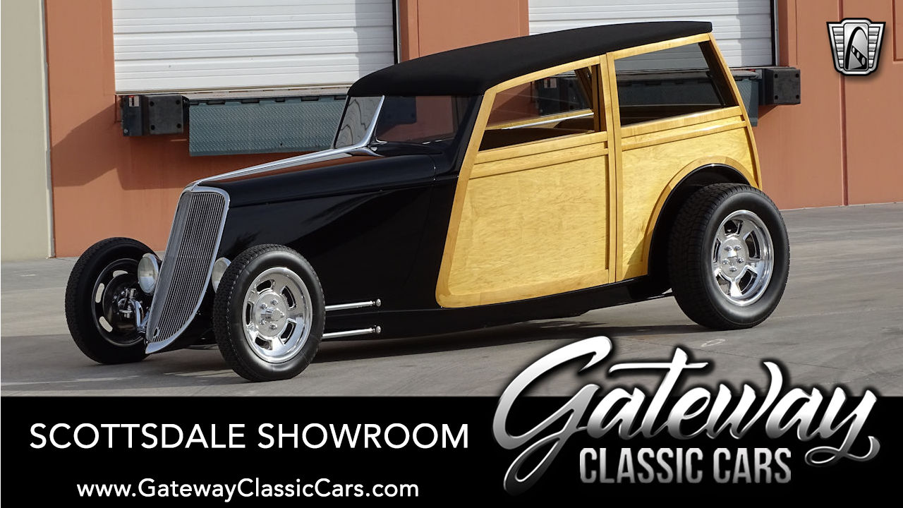 Used 1933 Ford Woody