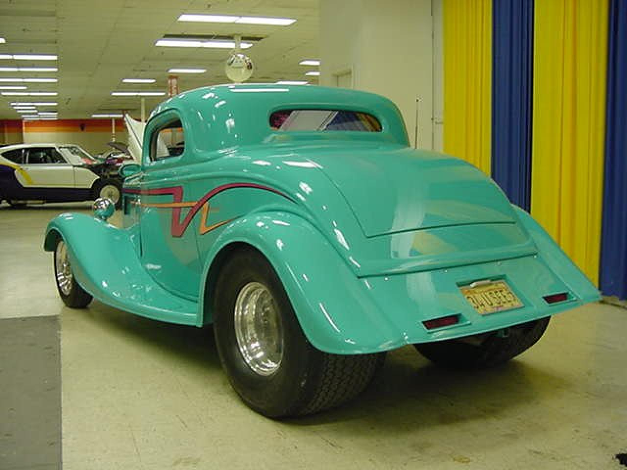 1934 ford 3 window coupe gateway classic cars 1933 stl for 1934 ford 3 window