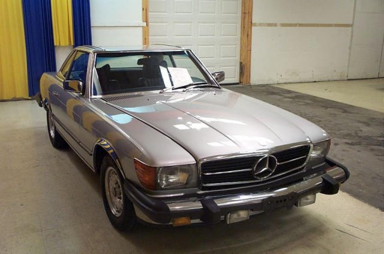 1978 mercedes benz 450sl gateway classic cars 1943 stl for 1978 mercedes benz 450sl