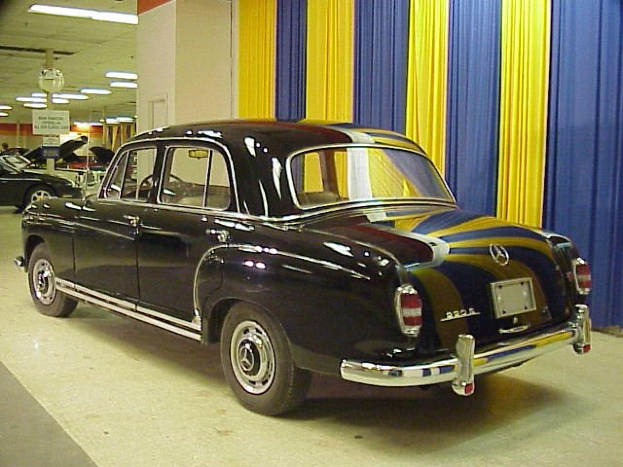 1959 mercedes benz 220 s gateway classic cars 2046 stl for 1959 mercedes benz