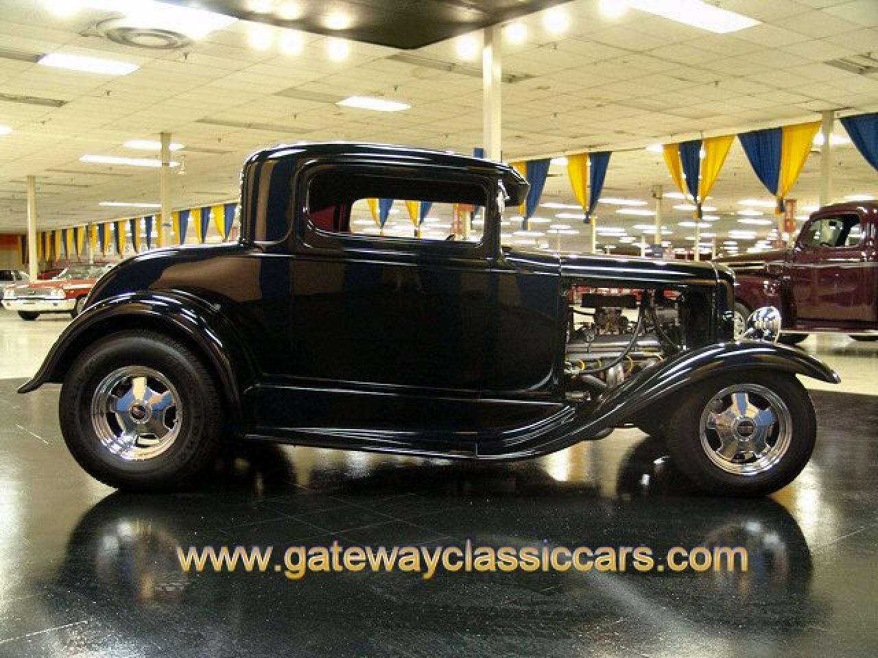 1931 ford 3 window coupe gateway classic cars 3880 stl