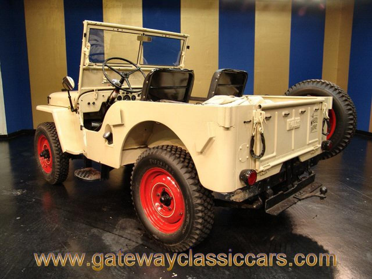 4592d 1946 willys cj2a gateway classic cars 4592 1947 Willys Jeep Wiring Diagram at readyjetset.co