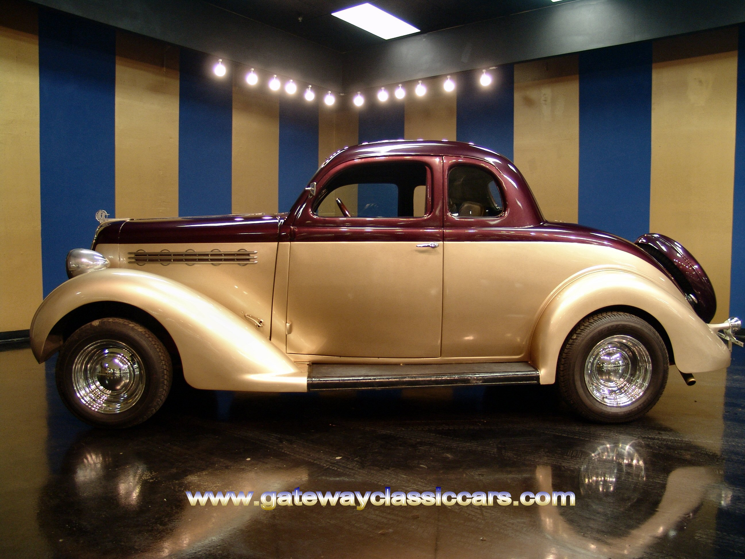 Classic Cars Denver >> 1935 Plymouth 5 Window Coupe For Sale | Gateway Classic Cars | 2807