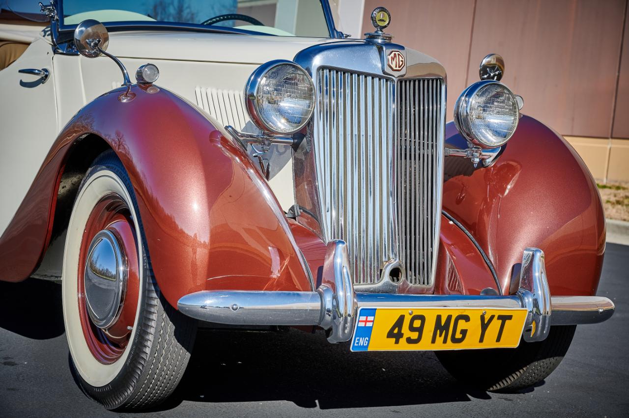 1949 MG YT 35