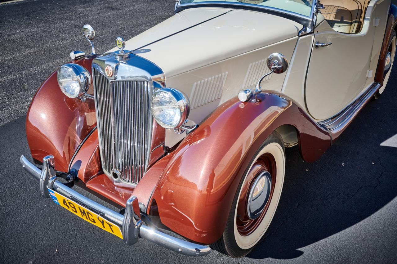 1949 MG YT 75