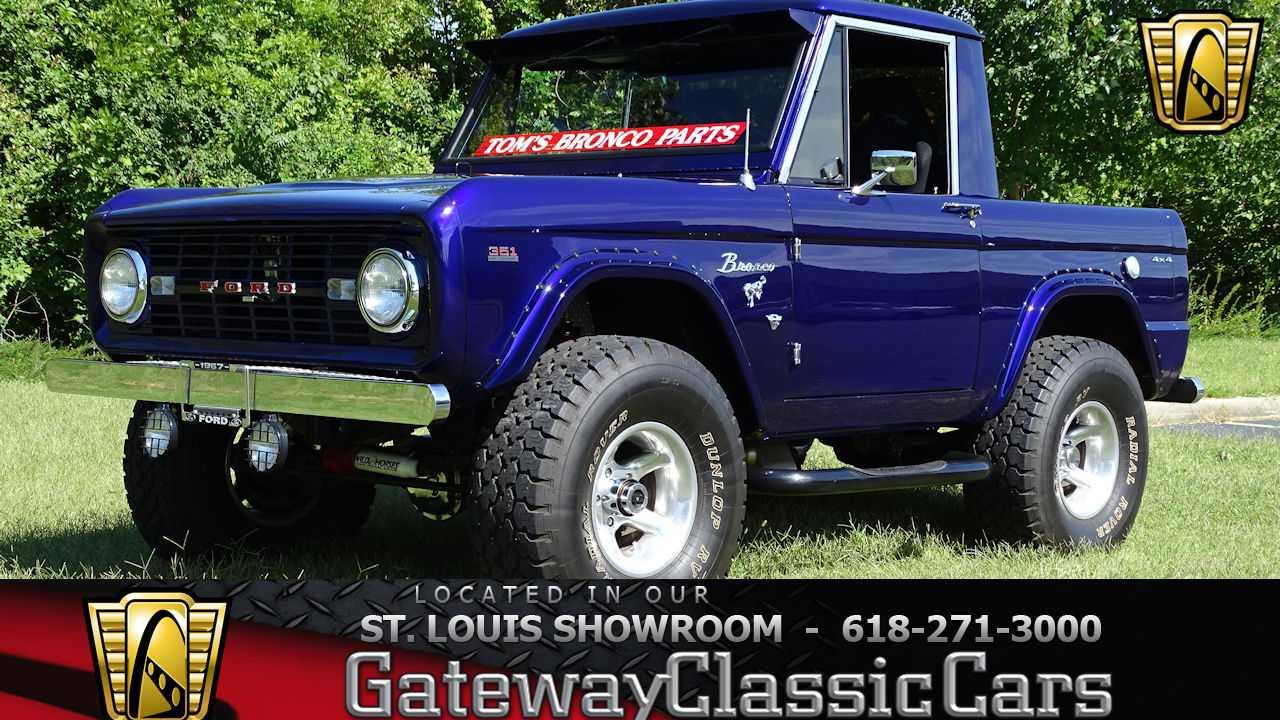 Ford Bronco Gateway Classic Cars 1980 Interior