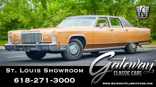 1976 Lincoln Continental <br><span style='font-size: large; font-style: italic'><b>  </b></span>