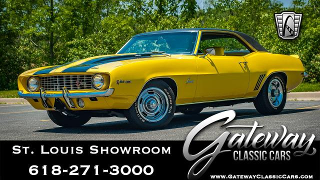 1969 Chevrolet Camaro<br><span style='font-size: large; font-style: italic'><b>Z28 302 </b></span>